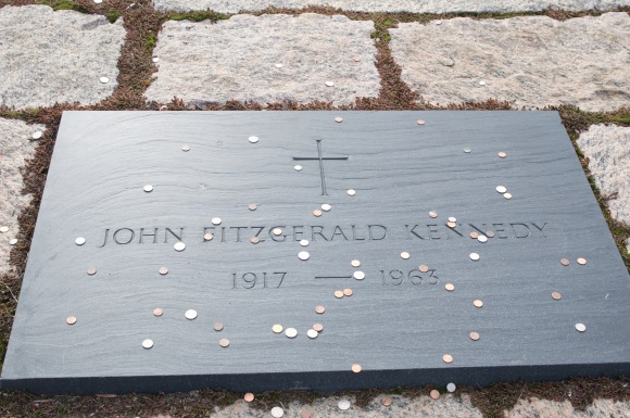 Final resting place for John F. Kennedy